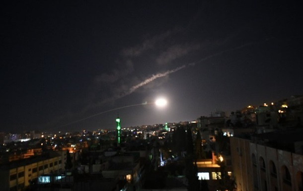 Ізраїль підтвердив обстріл сирійської території