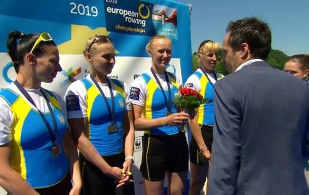 Украина выиграла одну медаль на чемпионате Европы по академической гребле