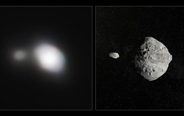 Получен снимок пролетевшего мимо Земли двойного астероида