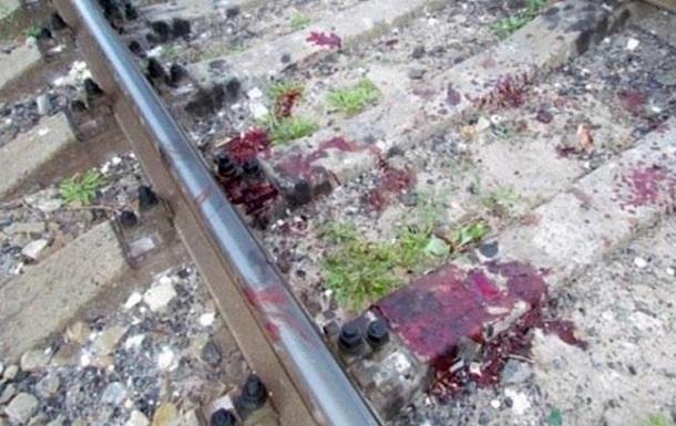 В Киеве поезд отрезал пьяному полицейскому ноги