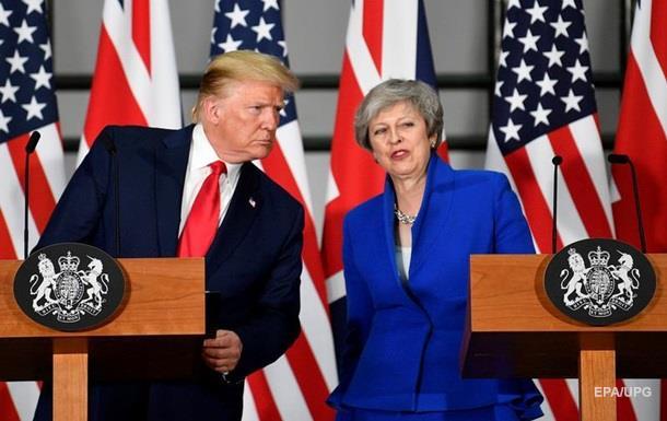 Трамп хочет заключить с Британией сделку по Huawei