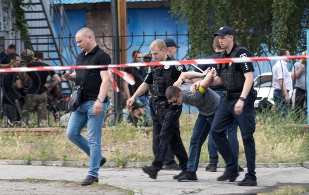 В Днепре произошла стрельба, задержаны 30 человек