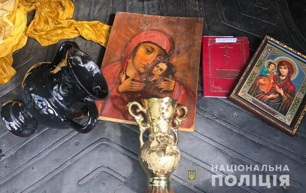 На Київщині затримали серійного крадія церковного майна