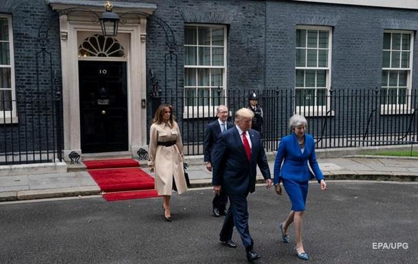 Трамп устроил в Лондоне торжественный ужин