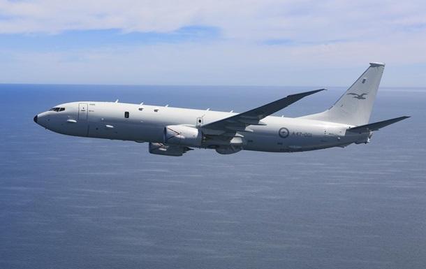 Самолет США провел разведку над Черным морем