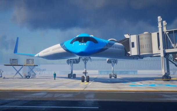Голландцы показали концепт  авиалайнера будущего