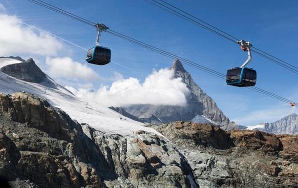 В Швейцарии оборвалась канатная дорога, есть жертва