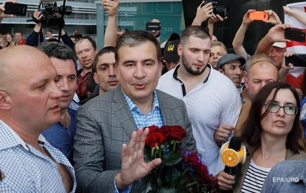 Уже зовут в Раду. Приключения Саакашвили в Украине