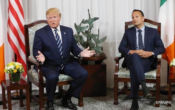Премьер Ирландии поспорил с Трампом о границе
