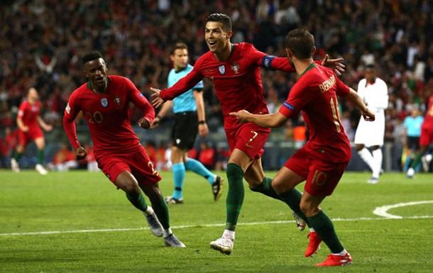 Португалія вирвала путівку у фінал Ліги націй, обігравши Швейцарію