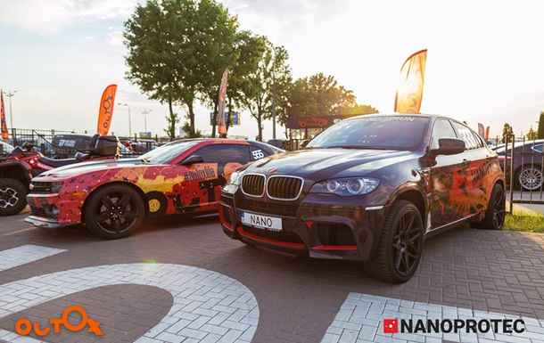 Outox и Nanoprotec собрали в Киеве рекордное число суперкаров