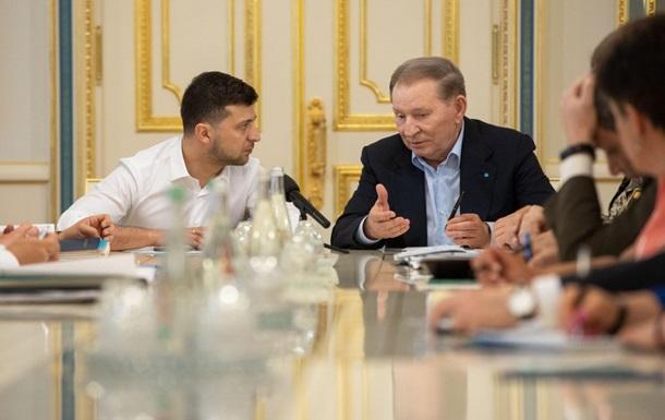 Кучма предложил новый режим: Не стрелять в ответ