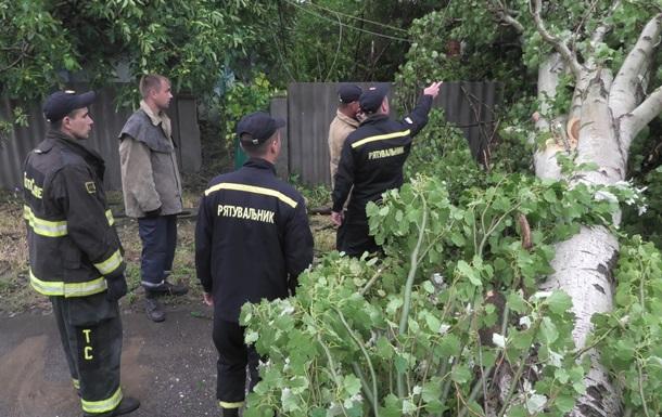 В Україні через негоду постраждали сім областей