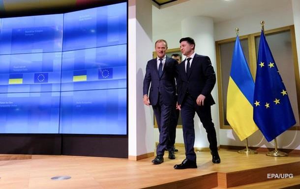Туск оценил первый визит президента Украины в Брюссель