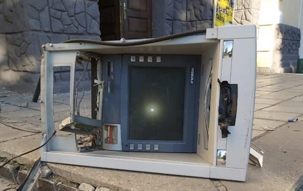 Під Харковом підірвали банкомат