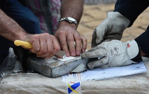 В Європі вилучили 140 тонн кокаїну за рік