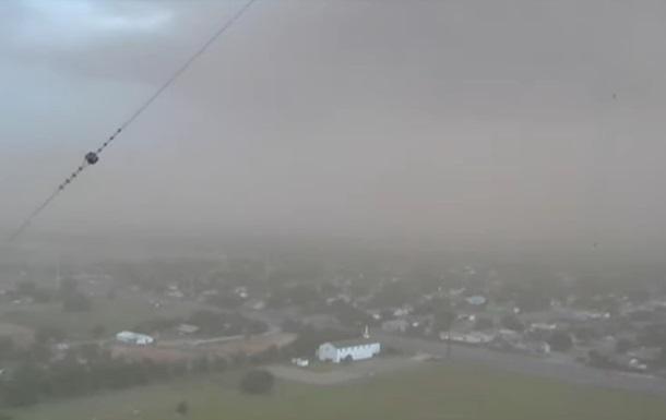Пылевая буря накрыла город в Техасе