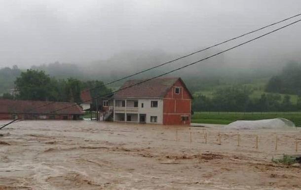 В Сербии из-за наводнений объявлен режим ЧС
