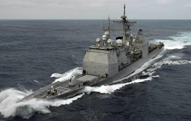 Крейсер США і корабель Росії мало не зіткнулися в морі