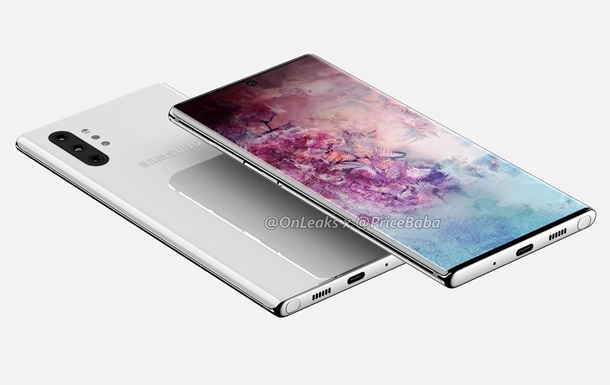 Galaxy Note10 Pro: фото
