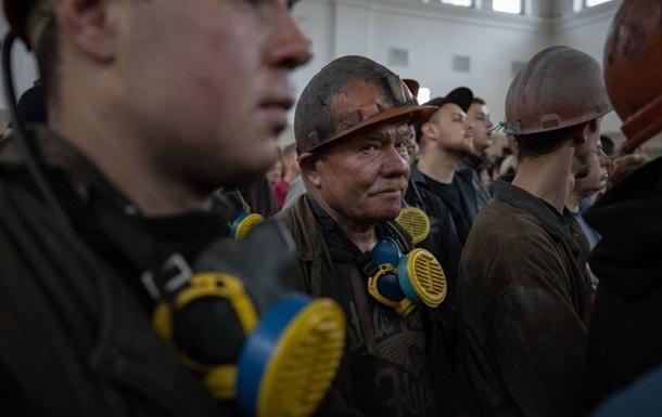На Львовщине горняки двух шахт объявили забастовку