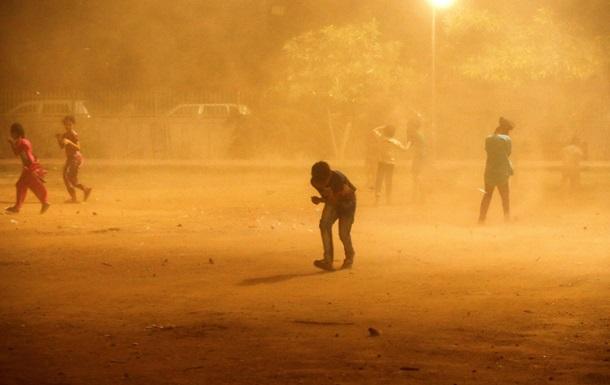 Піщані бурі в Індії вбили 19 осіб