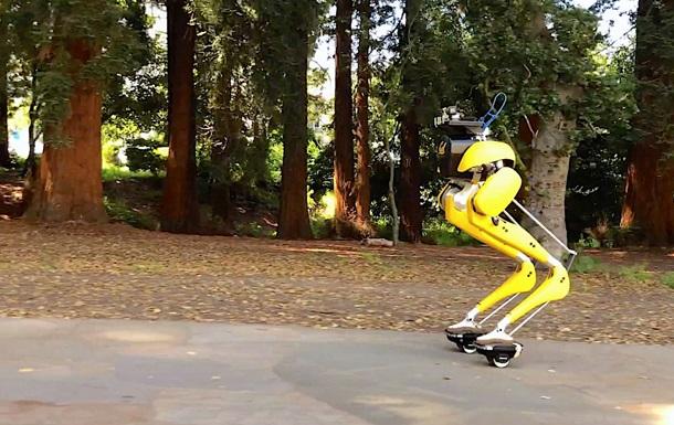 Двоногий робот Cassie освоїв їзду на гіророликах