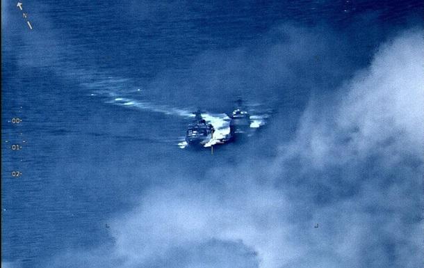 Опубліковано відео зближення кораблів США і РФ