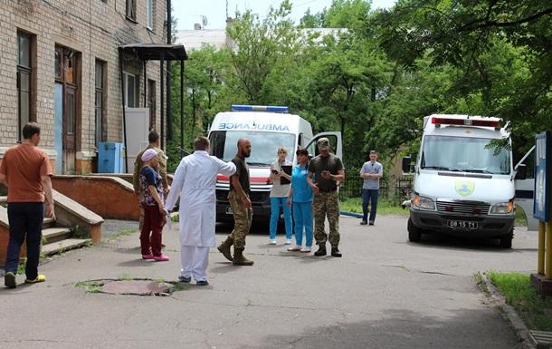 В штабе сообщили о состоянии раненых ночью бойцов на Донбассе