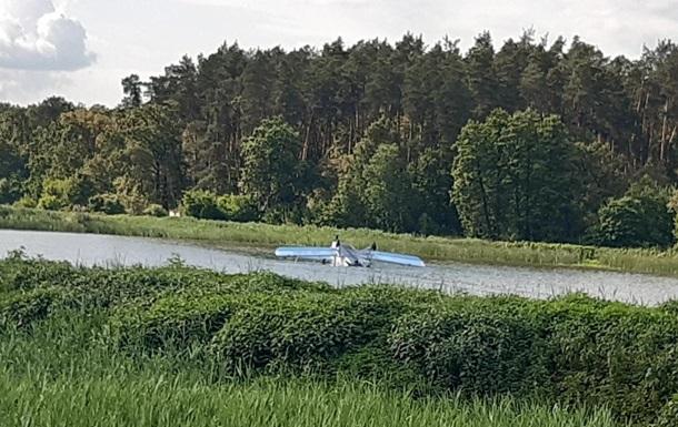 Знайдено зниклий у Київській області літак