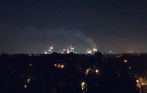 В Варшаве произошел пожар в небоскребе