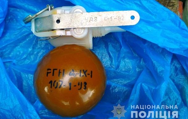 На Полтавщині чоловік намагався обміняти гранату на пляшку горілки