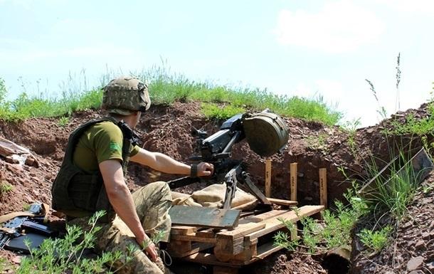 День в зоне ООС: шесть обстрелов, ранен боец