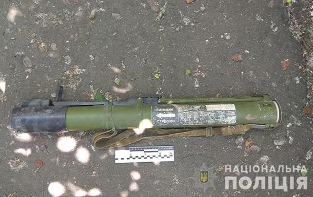 В Константиновке у мужчины изъяли гранатомет