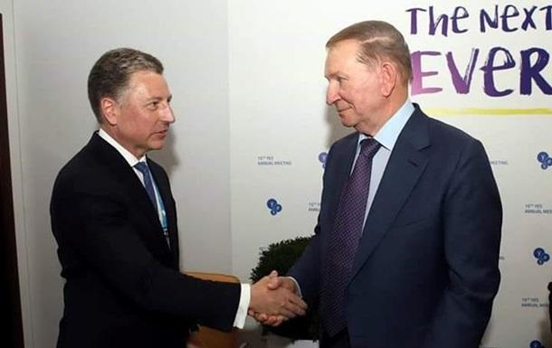 Волкер пожелал Кучме успехов в контактной группе