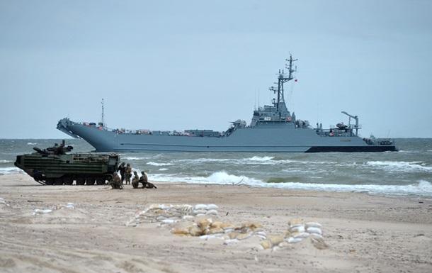 В НАТО озвучили цель учений в Балтийском море