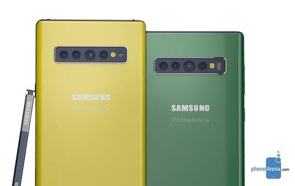 Samsung Galaxy Note10 буде підтримувати 5G