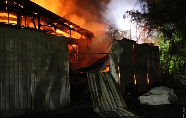 В Одессе горела психбольница: есть жертвы