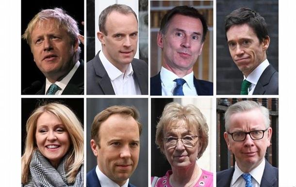 У Великобританії визначили 10 кандидатів у наступники Мей
