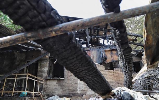 Появилось видео последствий пожара в Одессе
