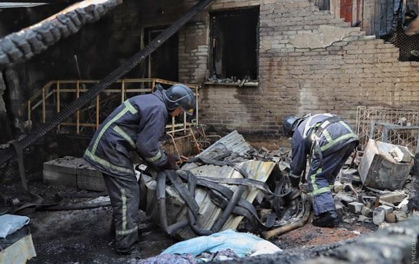 Пожар в Одессе: установлен очаг возгорания