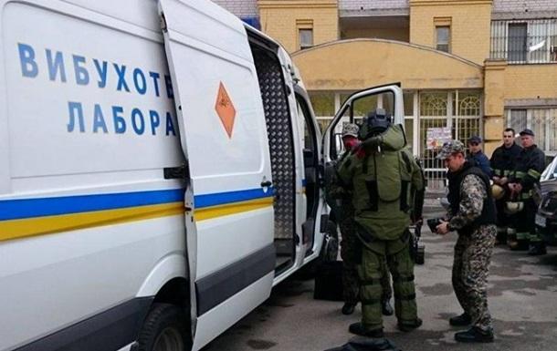 В Украине за сутки  заминировали  более 330 объектов