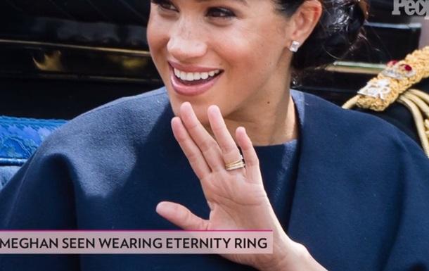 СМИ раскрыли тайну нового кольца Меган Маркл