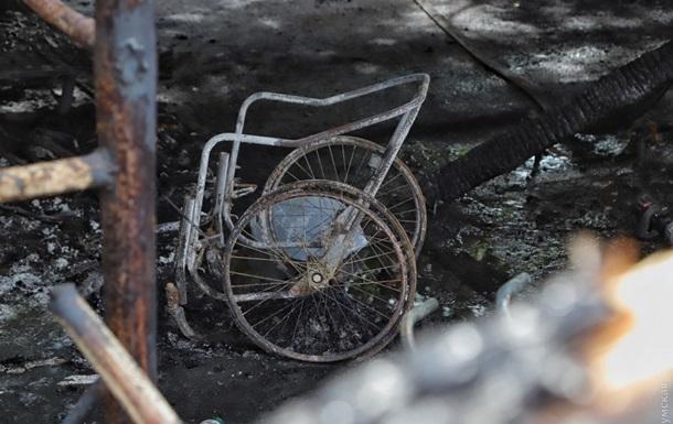 Названа причина пожара в Одесской психбольнице