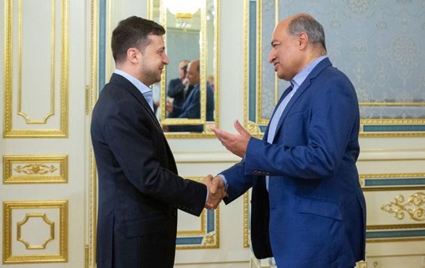 Зеленский встретился с главой ЕБРР