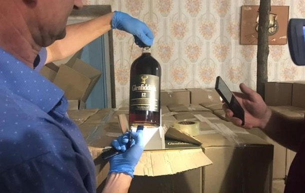 Под Винницей обнаружили цех по производству алкоголя