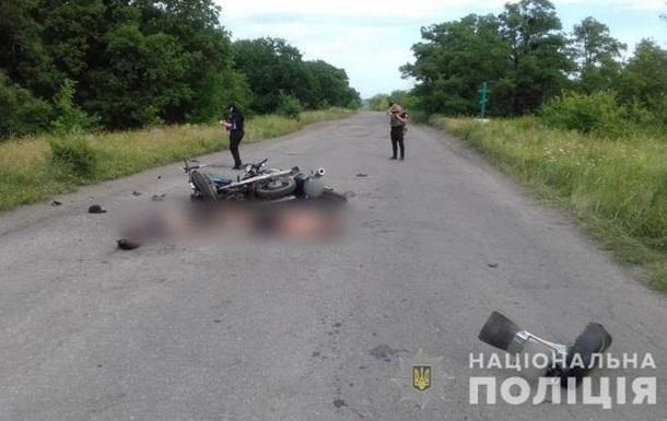 На Луганщине три подростка погибли при столкновении двух мотоциклов