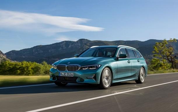 BMW розкрила зовнішність нового універсала 3-Series