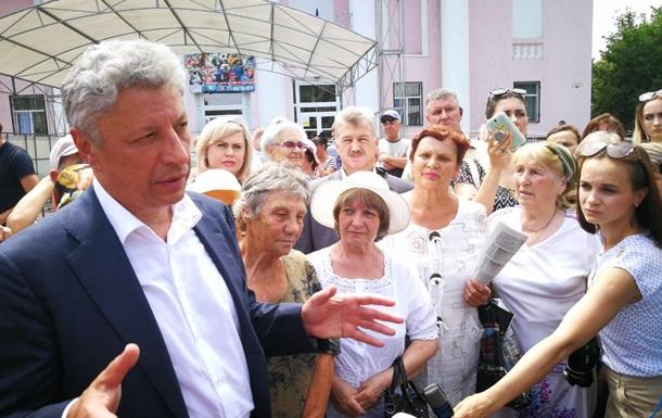Бойко обещает после выборов прямые переговоры с РФ и сепаратистами