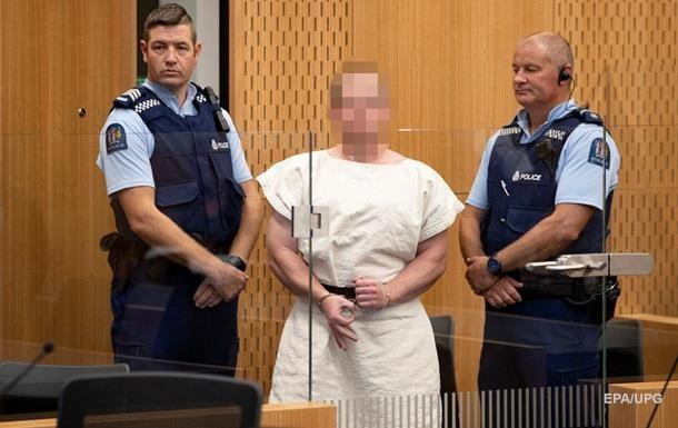 Стрельба в Новой Зеландии подозреваемый не признает вину
